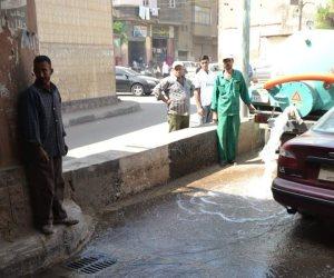 محافظة الغربية تستعد لموسم الشتاء باختبار كفاءة صفايات الصرف (صور)