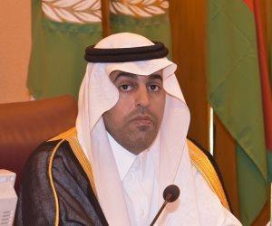 """رئيس البرلمان العربي يرفض تسيس دور """"الأونروا"""".. ويدعو دول العالم لدعمها"""
