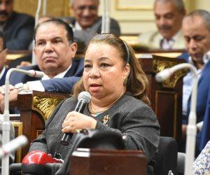 هبة هجرس تدافع عن حقوق ذوى الإعاقة بالبرلمان.. وأبو المعاطى يتهم نجيب محفوظ بخدش الحياء