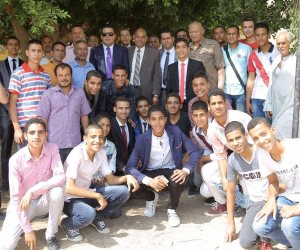 أحمد أبوهشيمة يسدد الرسوم الدراسية لـ 2460 طالبا من غير القادرين بسوهاج