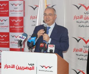 عصام خليل: المرحلة الحالية بحاجة إلى الرئيس السيسي لقدرته على مواجهة الإرهاب