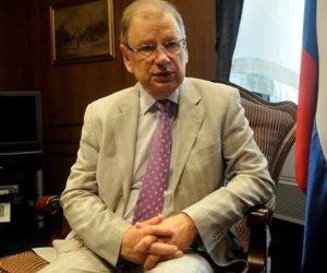 السفير الروسي بالقاهرة: مشاركة مصر بوفد كبير في مهرجان الشباب والطلبة يعكس أهميتها