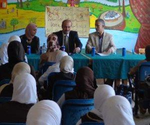 قافلة جامعة المنوفية للمصيلحة تناقش التغذية في مرحلة المراهقة