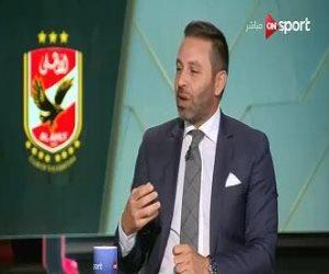 """حازم إمام يكشف لـ""""ON Sport"""" موعد رحيل """"متعب"""" عن الأهلي"""