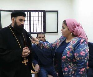 """""""صوت الأمة"""" تحضر عظة مسيحية لنزلاء السجون (فيديو)"""