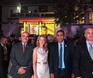 وفد جامعة أسوان يهنئ سفارة إسبانيا بالعيد القومي