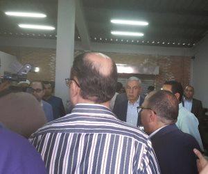 وزير التجارة يدشن بدء الإنتاج الفعلي للوحدات الصناعية بمجمع مرغم بالإسكندرية (صور)