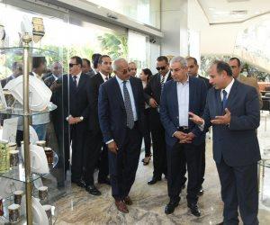 افتتاح التوسعات الجديدة للشركة الألمانية لصناعة البورسلين بالإسكندرية (صور)