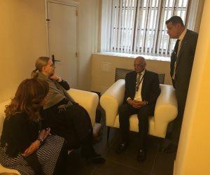 الوفد البرلماني المصري يلتقي برئيسة نواب فنلندا