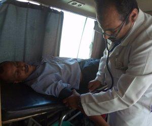 إصابة 58 عاملا في مصنع سكر أرمنت بالضغط والقولون والقرحة