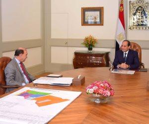 الرئيس السيسي يرحب بالتعاون مع مجموعة موانئ دبي العالمية