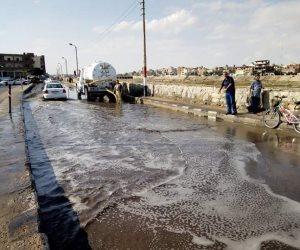 استمرار تطهير الشنايش والمطابق في الإسكندرية استعداد لموسم الشتاء (صور)