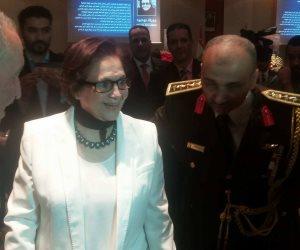 جميلة بوحريد تشارك الجالية المصرية بالجزائر احتفالات نصر أكتوبر (صور)