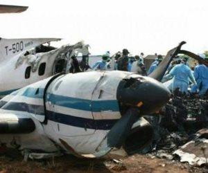 سقوط طائرة ركاب من بنجلادش أثناء هبوطها فى مطار نيبال