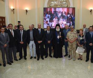 محافظ الإسكندرية يحضر احتفالية مرور 10 سنوات على تطوير بطريركية الروم الأرثوذكس (صور)