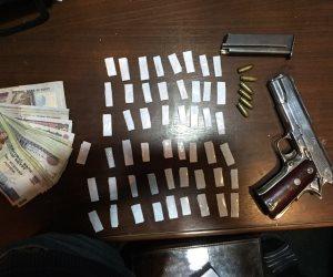 ضبط 66 قضية مخدرات وسلاح ناري في حملة أمنية بالجيزة