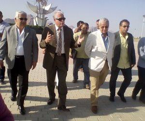 """محافظ جنوب سيناء ورئيس مجلس إدارة """"المقاولون العرب"""" نظموا جولة تفقدية بشرم الشيخ"""