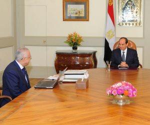 خلال اجتماعه مع الرئيس.. وزير التعليم يعرض رؤيته الشاملة للتطوير