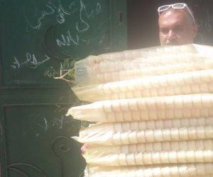 شاهد آخر صيحات فساد الأطعمة.. جيلاتي بالصراصير في سوهاج