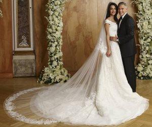 """""""أمل علم الدين"""" تتنازل عن فستان زفافها الثمين.. والسبب العمل الخيرى"""