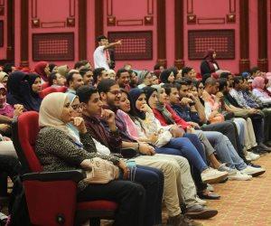 إقبال كبير على المؤتمر السنوي الثالث لطلاب الأسنان (صور)