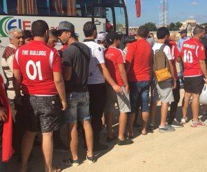 توافد الجماهير على مباراة السلام بين الأهلي وأتلتيكو مدريد