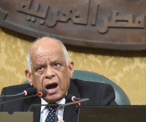 """عبدالعال يدعو النواب للوقوف دقيقة تحية لـ""""المرابطين"""" دفاعا عن القدس"""