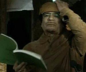 الفرار إلى جهنم .. عندما تنبأ القذافي بمصيره واندلاع الحرب الأهلية فى ليبيا