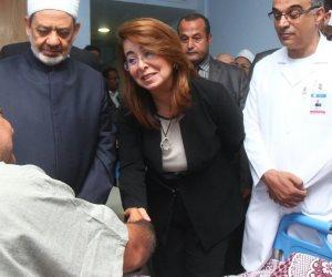مصابو حادث الواحات يعاهدون شيخ الأزهر: سنثأر من الإرهابيين