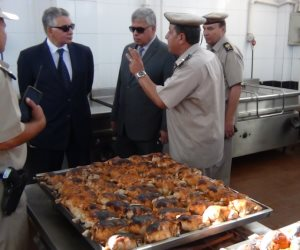 مساعد الوزير لمنطقة وسط الدلتا يتفقد قوات أمن قويسنا