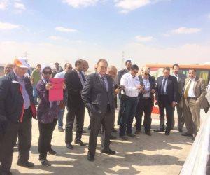 وصول «وفد المستثمرين» إلى العاصمة الإدارية الجديدة (صور)