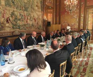 طارق قابيل يترأس اجتماع مجلس الأعمال المصري الفرنسي بباريس (فيديو وصور)