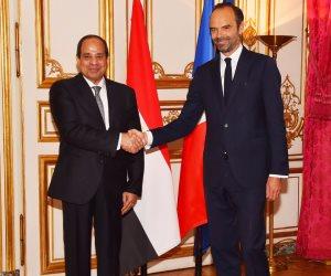 رئيس وزراء فرنسا يشيد ببرنامج الإصلاح الاقتصادي المصري.. ويؤكد تكثيف التعاون مستقبلا