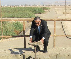 رئيس مدينة أبورديس بجنوب سيناء يتفقد محطة الصرف الصحي ويشدد على الصيانة الدورية