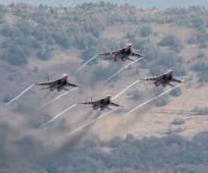 الطيران الإسرائيليى يخترق الأجواء اللبنانية ويشن غارات على الأراضى السورية