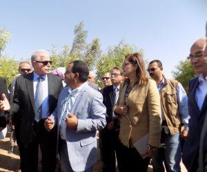 الوزراء يغادرون مدينة طور سيناء بعد تفقد عدد من المشروعات الخدمية (صور)