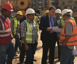 وزير النقل: نراعي حالة المنشآت وعمرها خلال حفر الخط الثالث للمترو