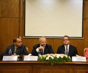 وزير الآثار من جامعة القاهرة: وضع الآثار المصرية لا يرضي أحدا.. والميزانية قليلة