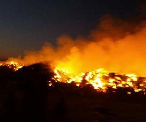 الأمن الصناعي يسيطر على حريق سخان في المدينة الجامعية بالإسكندرية (صور)