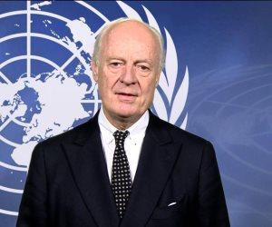 """مبعوث الأمم المتحدة لسوريا عن مباحثات """"أستانا"""": أكدنا ضرورة الحفاظ على وحدة دمشق"""