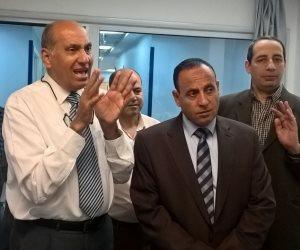 رئيس سكك حديد مصر يزور المركز الطبي للهيئة ويطمئن على سير العمل