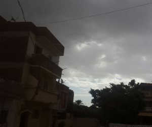 سقوط أمطار وانخفاض فى درجات الحرارة بالإسكندرية  ( صور )