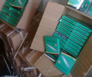 """ضبط مليون و200 ألف """"كتر"""" فى 3 حاويات قادمة من الصين لميناء بورسعيد"""