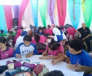مسابقة دولية بتعليم البحر الأحمر لرسم الملامح الهندية بأحد مدارس الغردقة