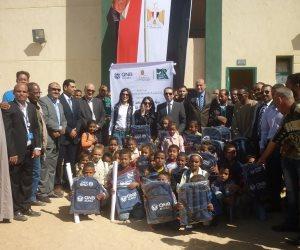 """افتتاح مدرسة """"الزنيقة للتعليم الأساسي"""" في قرية أصفون جنوب الأقصر (صور)"""
