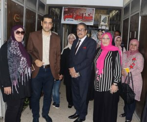 أشرف عامر يتفقد بيت ثقافة الجرابعة استعدادا لافتتاحه