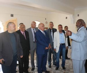 نقيب معلمي السودان يزور النقابة المصرية الفرعية بطنطا