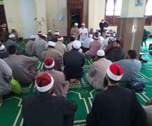 تعرف على مساجد الاعتكاف وساحات صلاة العيد بدمياط