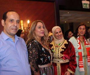 سميحة أيوب وسمير صبري وطارق مهدي وعنان الجلالي في احتفالية مغربية بالقاهرة