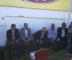 انتخابات الاسماعيلي .. إبراهيم عثمان يدعم قائمته ( صور )